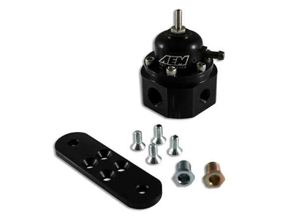 AEM เรกูเลเตอร์ Universal Adjustable Fuel Pressure Regulator (25-302BK)