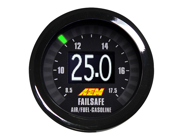 AEM WIDEBAND AND BOOST/VACUUM GAUGE (30-4900) 30-4900