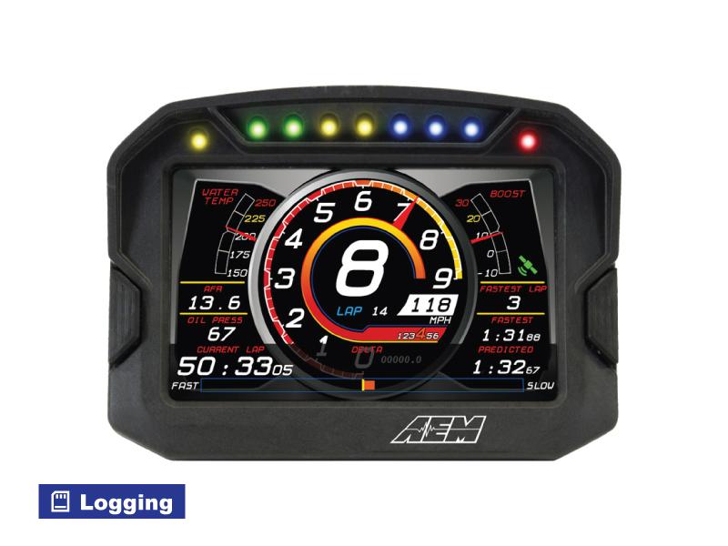 หน้าจอ AEM CD-5 Carbon Digital Dash ขนาด5