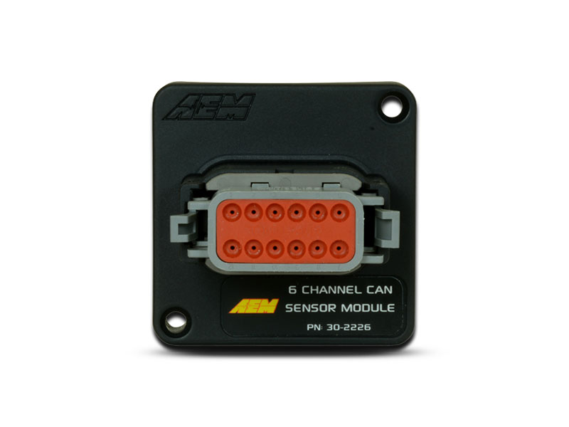 AEM 6-Channel CAN Sensor Module (30-2226)