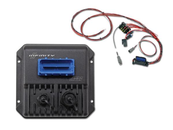 กล่อง AEM Infinity 506 หรือ 508 (รหัส 30-7106, 30-7108 ) + สายไฟชุดใหญ่ Universal harness (30-3705)