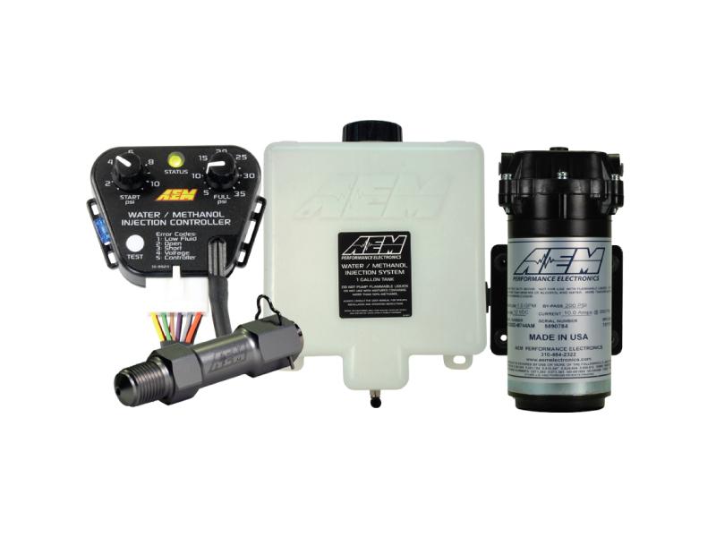 AEM Water/Methanol Injection 1.15 Gallon Kit