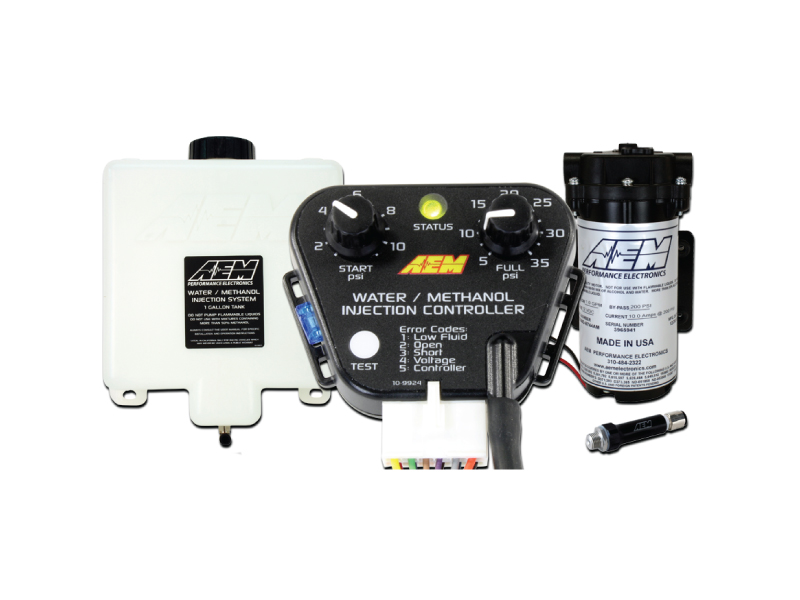 AEM Water/Methanol Injection 1.15 Gallon Kit