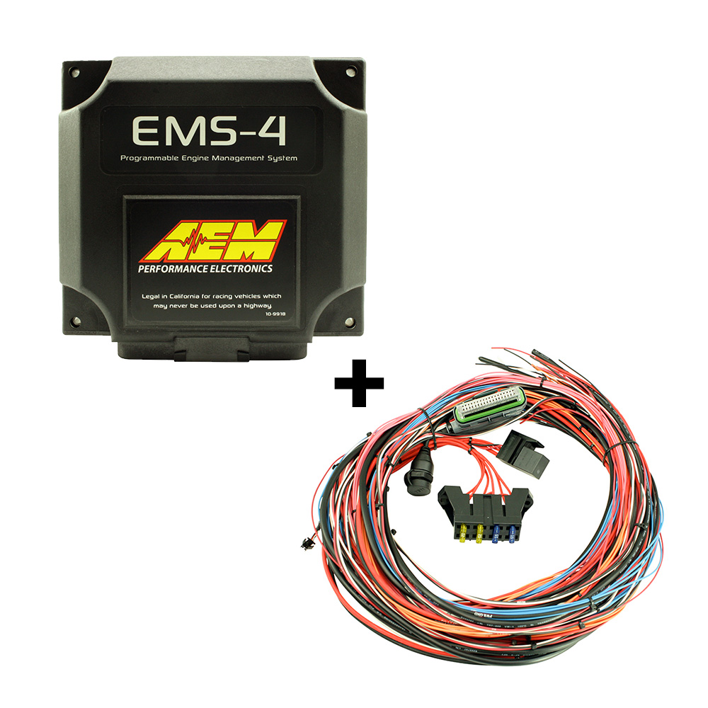 Aem Wiring Harness Fuel Ignition Controller Fic 6 30 1910 Siamultimateracing Ems 4 6905 Universal 96 2905