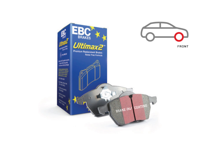 Ultimax 2 Front Brake Pad (OE Replacement) DPX2140
