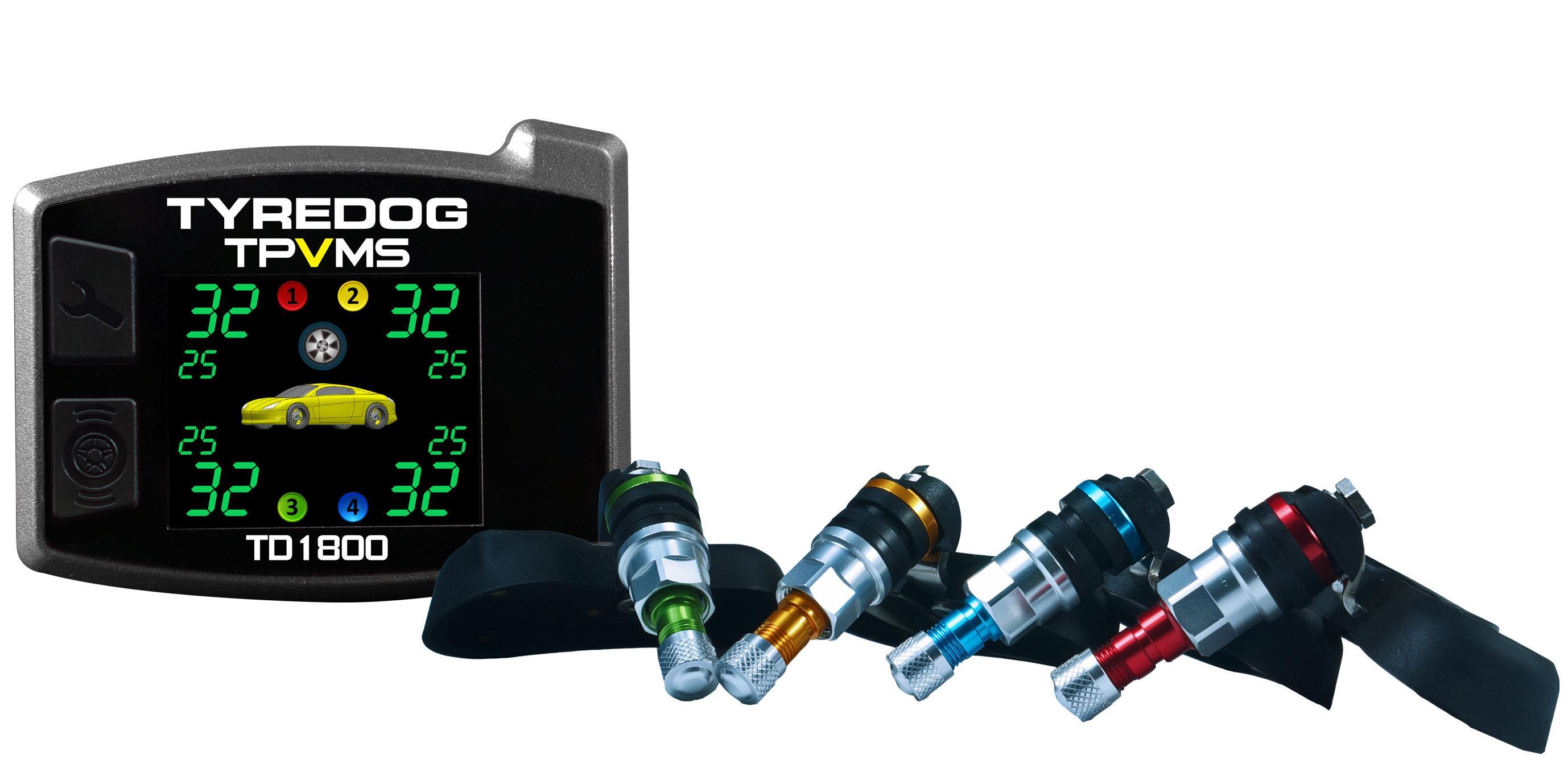 เครื่องวัดลมยาง TyreDog TPMS TD1800A-X-I-04
