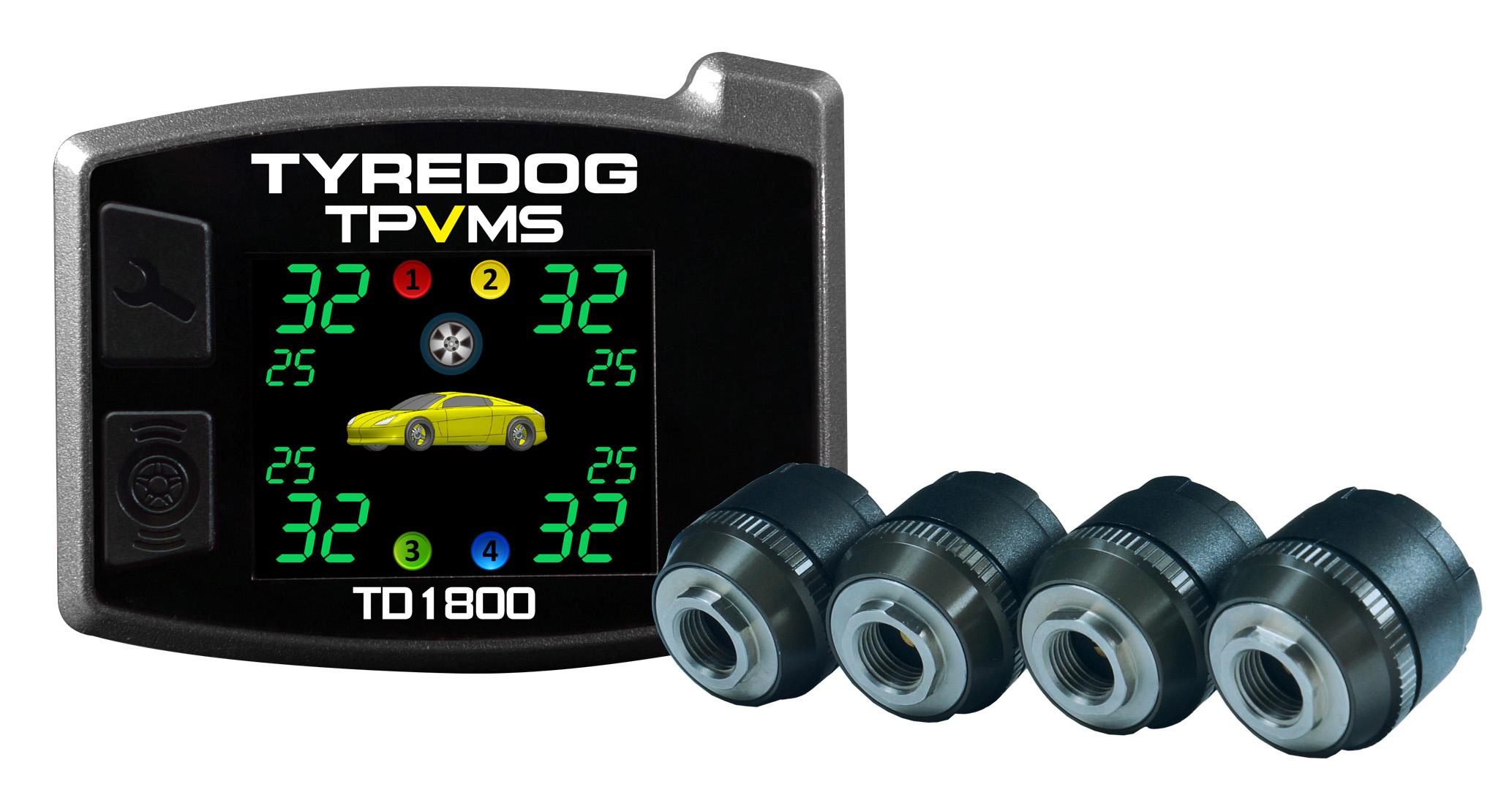 เครื่องวัดลมยาง TyreDog TPMS TD1800A-X-04